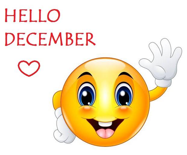 Hello December Emoji