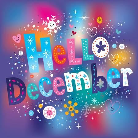 Hello December Images Clip-Art