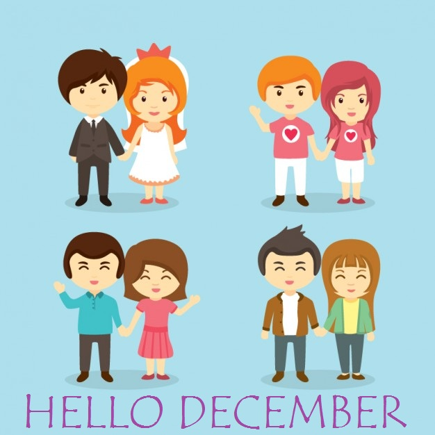 Hello December Instagram Images